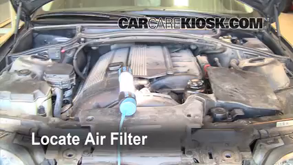 Air Filter HowTo BMW I BMW I L Cyl - 325i bmw engine
