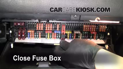 Interior Fuse Box Location: 1999-2006 BMW 325i - 2002 BMW 325i 2.5L 6 Cyl.  Sedan 2005 Bmw Fuse Box CarCareKiosk