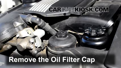 2010 bmw x5 35d oil filter location