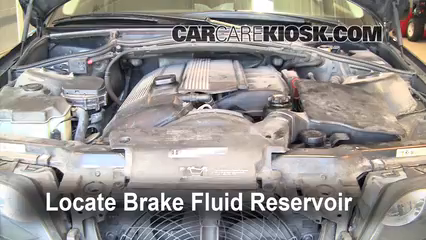 2002 BMW 325i 2.5L 6 Cyl. Sedan Brake Fluid Add Fluid