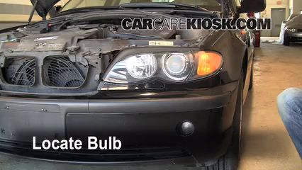 2002 BMW 325i 2.5L 6 Cyl. Sedan Lights Highbeam (replace bulb)
