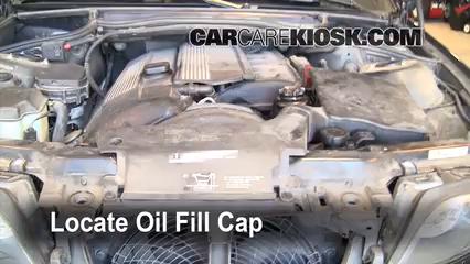 How to Add Oil BMW 325i (1999-2006) - 2002 BMW 325i 2 5L 6