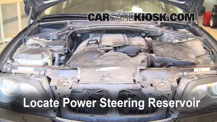 Follow These Steps to Add Power Steering Fluid to a BMW 325i (1999