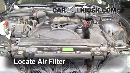 2002 BMW 530i 3.0L 6 Cyl. Air Filter (Engine)
