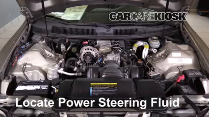 2002 Chevrolet Camaro 3.8L V6 Convertible Power Steering Fluid