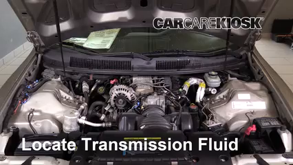 2002 Chevrolet Camaro 3.8L V6 Convertible Transmission Fluid