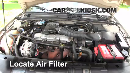Air filter how to: 1995 2005 chevrolet cavalier 2002 chevrolet