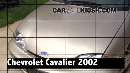 2002 Chevrolet Cavalier 2.2L 4 Cyl. Sedan (4 Door) Review
