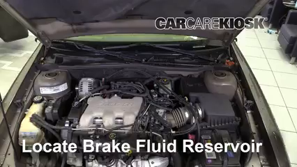 2002 Chevrolet Malibu LS 3.1L V6 Brake Fluid