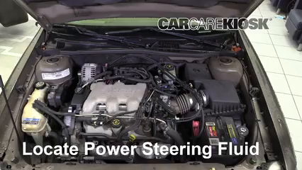 2002 Chevrolet Malibu LS 3.1L V6 Power Steering Fluid
