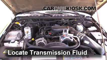 95 chevy s10 transmission fluid