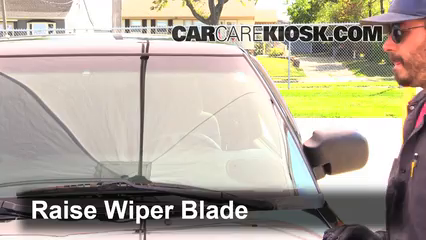 2002 Chevrolet S10 LS 4.3L V6 Crew Cab Pickup (4 Door) Windshield Wiper Blade (Front) Replace Wiper Blades