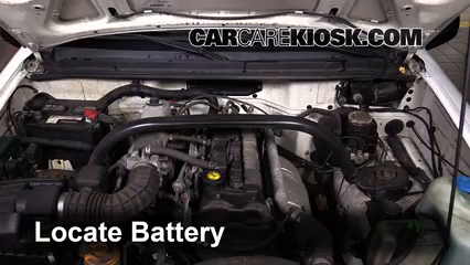 2002 Chevrolet Tracker 2.0L 4 Cyl. (4 Door) Battery