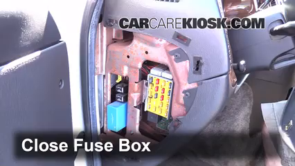 interior fuse box location: 1994-2003 dodge ram 1500 van - 2002 dodge ram  1500 van 5 2l v8 standard passenger van