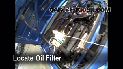 Oil Filter Change Ford Escort 1997 2003 2002 Ford Escort Zx2