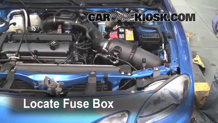 blown fuse check 1997 2003 ford escort 2002 ford escort zx2 2 0l 4  ford escort fuse box removal #11