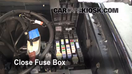 Replace a Fuse: 2002-2005 Ford Explorer - 2002 Ford Explorer XLT 4.0L on 02 chevy cavalier fuse box, 02 lincoln town car fuse box, 02 chevy venture fuse box, 02 ford e350 fuse box, 06 ford explorer fuse box, 2014 ford explorer fuse box, 2003 ford explorer fuse box, 2001 ford explorer fuse box, 02 cadillac deville fuse box, 02 dodge stratus fuse box, 02 mercury cougar fuse box, 02 saturn vue fuse box, 97 ford explorer fuse box, 96 ford explorer fuse box, 02 saturn sc1 fuse box, 02 mercury sable fuse box, 02 jeep wrangler fuse box, 02 pontiac grand prix fuse box, 05 ford explorer fuse box, 08 ford explorer fuse box,