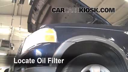 Oil Amp Filter Change Ford Explorer 2002 2005 2004 Ford