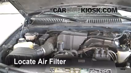 Air Filter How To 2002 2005 Ford Explorer 2002 Ford Explorer Xlt