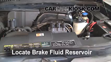 2002 Ford Explorer XLT 4.0L V6 Brake Fluid