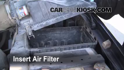 Air Filter How To 1999 2007 Ford F 250 Super Duty 2002 Ford F 250
