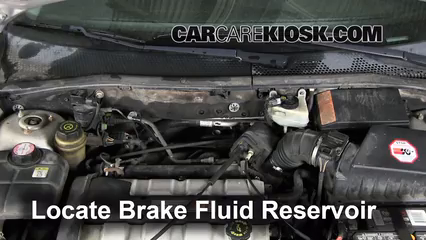 2002 Ford Focus ZX3 2.0L 4 Cyl. Brake Fluid