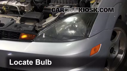 Ford Focus Zxl  Cyl Lights Highbeam Replace Bulb