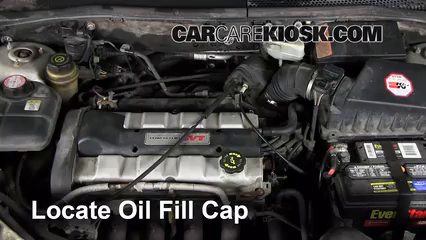 How To Add Oil Ford Focus 2000 2004 2002 Ford Focus Zx3 2 0l 4 Cyl