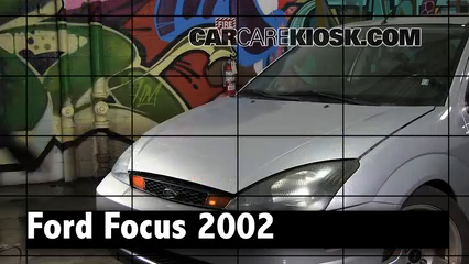 2002 Ford Focus ZX3 2.0L 4 Cyl. Review