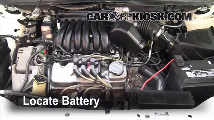 2002 Ford Taurus SE 2-Valve 3.0L V6 Battery Replace