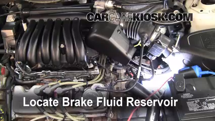 2002 Ford Taurus SE 2-Valve 3.0L V6 Brake Fluid