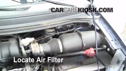 2003 windstar fuel filter location air filter how-to: 1999-2003 ford windstar - 2002 ford ...
