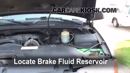 2002 GMC Yukon XL 2500 SLT 8.1L V8 Brake Fluid Add Fluid