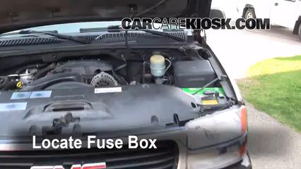 Fuse Engine Part 1 blown fuse check 2000 2006 gmc yukon xl 2500 2002 gmc yukon xl