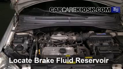 2002 Hyundai Getz GL 1.1L 4 Cyl. Brake Fluid