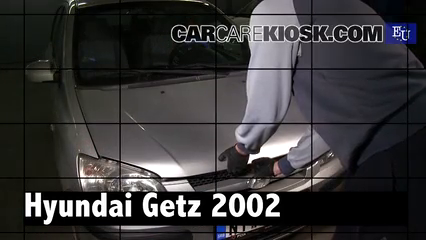 2002 Hyundai Getz GL 1.1L 4 Cyl. Review