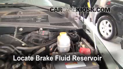 Add Brake Fluid: 2002-2007 Jeep Liberty - 2002 Jeep Liberty