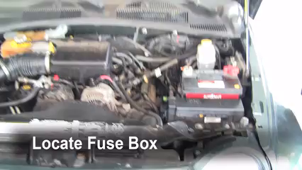 Replace A Fuse 2002 2007 Jeep Liberty 2002 Jeep Liberty Limited Ford Bronco  Fuse Box Fuse Box For Jeep Liberty
