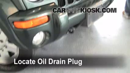 2004 jeep liberty sport oil type