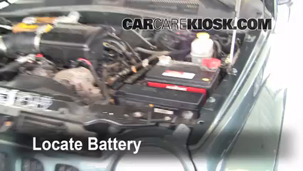 2002 Jeep Liberty Limited 3.7L V6 Battery Clean Battery & Terminals