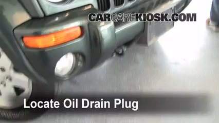 2002 Jeep Liberty Limited 3.7L V6 Oil Change Oil and Oil Filter