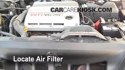 Air Filter How To: 2002 2006 Lexus ES300