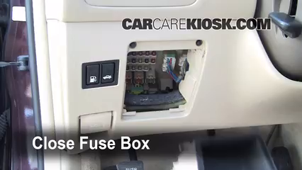 interior fuse box location: 2002-2006 lexus es300 - 2002 lexus es300 3 0l v6