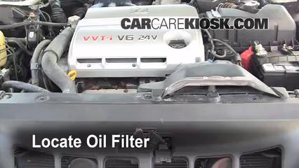 Oil & Filter Change Lexus ES300 (2002-2006) - 2002 Lexus ES300 3.0L V6