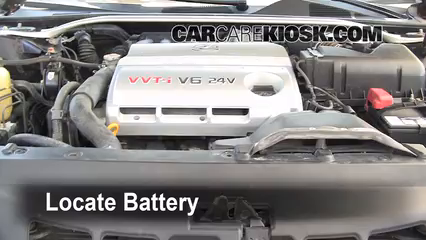 2002 Lexus ES300 3.0L V6 Battery Replace