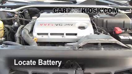 2002 Lexus ES300 3.0L V6 Battery Jumpstart