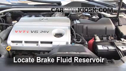 2002 Lexus ES300 3.0L V6 Brake Fluid Add Fluid