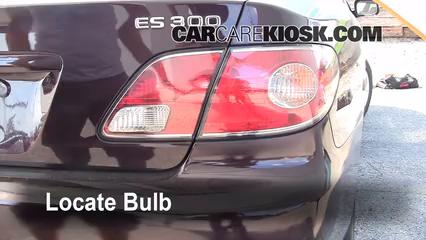 Brake Light Change 2002 2006 Lexus ES300