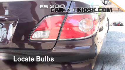 Tail Light Change 2002 2006 Lexus Es300 2002 Lexus Es300 3 0l V6