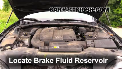 2002 Lincoln LS 3.9L V8 Brake Fluid Add Fluid